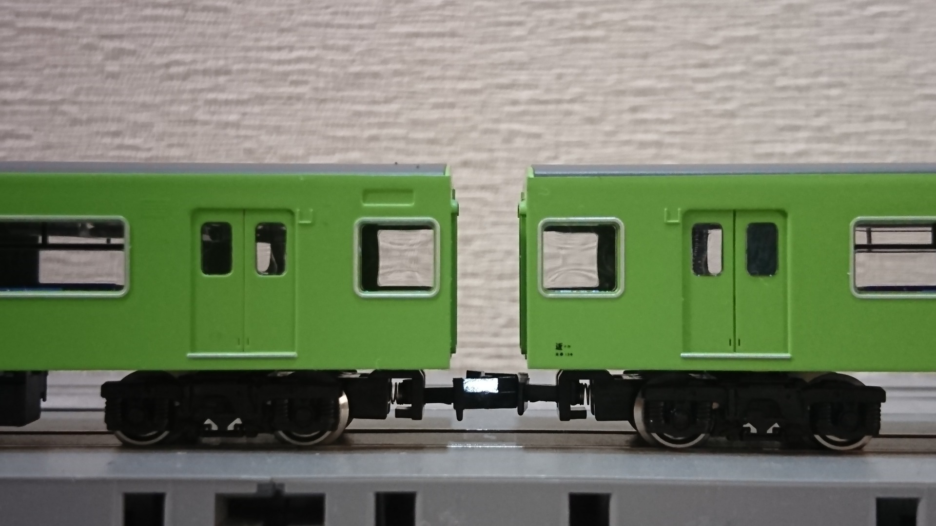 GreenMAX JR201系体質改善車おおさか東線・大和路線のデティールアップ ...